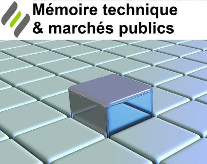 formation rédaction du mémoire technique